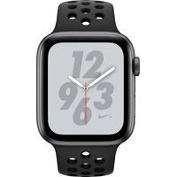 (GPS + Cellular) 44mm Alumiumgehäuse space grau mit Nike Sportarmband schwarz