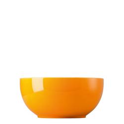 Thomas Porzellan Salatschüssel Sunny Day Orange Schüssel 24 cm, Porzellan, (1-tlg)
