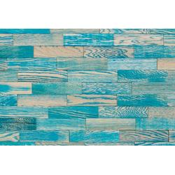 Wodewa 3D Wandpaneel Berlin - Vintage 010, BxL: 20x5 cm, 1 qm, (Set, 100-tlg) mit 3D-Effekt, geölt, blau
