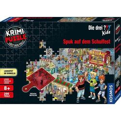 KOSMOS Verlag Puzzle Krimipuzzle ??? Kids 200 Teile / Spuk auf dem..., Puzzleteile