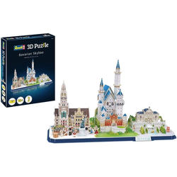 Revell® Steckpuzzle Revell 3D Puzzle: Bayern Skyline, 178 Puzzleteile