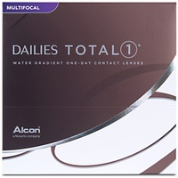 Alcon Dailies Total1 Multifocal 90 St. / 8.50 BC / 14.10 DIA / +0.50 DPT / Low ADD