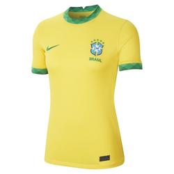Brasilien 2020 Stadium Home Damen-Fußballtrikot - Gelb, size: XS