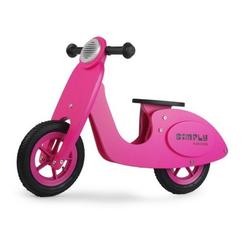 LeNoSa Laufrad Simply Vespa • Holzlaufrad für Kinder• Pink • Alter 3+