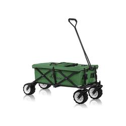 SAMAX Bollerwagen Faltbarer Bollerwagen Offroad Cool - Grün