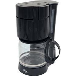 Elta Kaffeemaschine Filterkaffeemaschine Glas Kaffee Kanne Kaffeeautomat schwarz