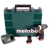 METABO PowerMaxx BS Basic inkl. 2 x 2,0 Ah (600080500)
