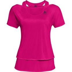 Odlo T-shirt s/s Hologram 2-in-1 pink glo (30304) L