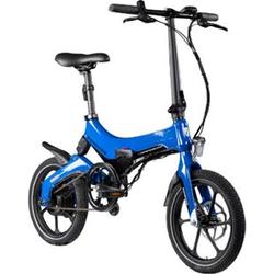 Zündapp Z201 16 Zoll Klapprad E-Bike Pedelec Faltrad Elektrofaltrad Elektrofahrrad StVZO... blau