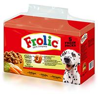 Frolic Complete mit Geflügel 5 x 1,5 kg