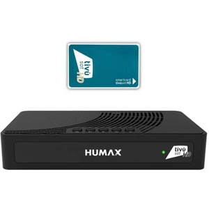 Humax Tivumax LT HD-3800S2 Full HD DVB-S2 Sat Receiver mit Aktive Tivusat HD Karte
