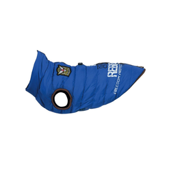 TRIXIE Hundemantel SaintMalo Geschirr blau M - 45 cm