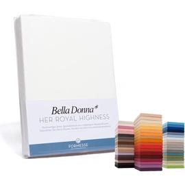 Formesse Bella Donna Jersey 90 x 190 - 100 x 220 cm wollweiß
