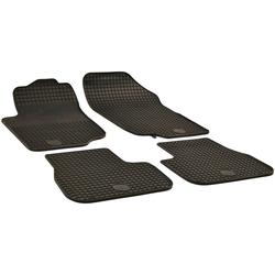 Walser Passform-Fußmatten (4 Stück), Peugeot 207 SW Kombi, für Peugeot 207 BJ 2006 - 2012