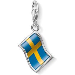 Thomas Sabo Flagge Schweden 1204-603-1 Charm Anhänger