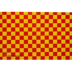 Oracover 48-033-023-002 Klebefolie Orastick Fun 4 (L x B) 2m x 60cm Gelb, Rot