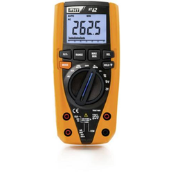 HT Instruments HT62 Hand-Multimeter kalibriert (ISO) digital CAT III 1000 V, CAT IV 600V Anzeige (Co