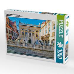Leipzig Alte Handelsbörse Lege-Größe 64 x 48 cm Foto-Puzzle Bild von Peter Roder Puzzle