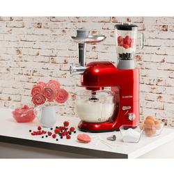Lucia Rossa 2G Küchenmaschine Mixer Fleischwolf 1300W BPA-frei
