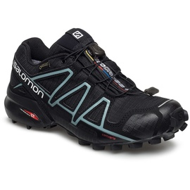 Salomon Speedcross 4 GTX W black/black/metallic bubble blue 36 2/3