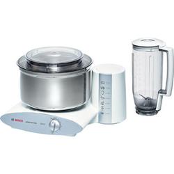 Bosch Universal Plus MUM6N21 Küchenmaschinen - Weiß / Silber