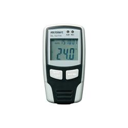 VOLTCRAFT Luftfeuchte Messgerät DL 141TH 0 100%  40°C +70°C schwarz