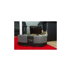 Exklusiver Katzenkorb Amy Style 55x42x18cm grau