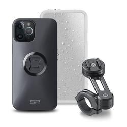 SP Connect Moto Bundle iPhone 12 Pro Max Smartphone Mount, black, Größe One Size
