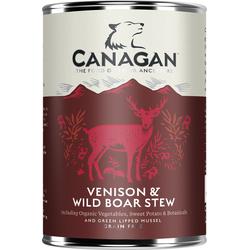 CANAGAN Venison & Wild Boar Stew Hunde Nassfutter Wild 400 g