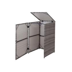 MCW Mülltrennsystem MCW-E25-1x, Garten grau