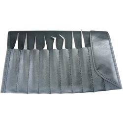 Pinzetten antimagnetisch 8-teilig in Plastiktasche