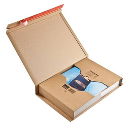 Colompac Versandkarton CP020.18 Wellpappe DIN A3 Braun
