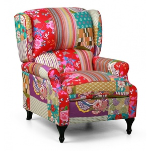 Sessel patchwork rich
