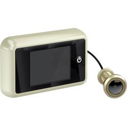 Basi TS 700 champagne 6800-0051 Digitaler Türspion mit TFT-Display 8.89cm 3.5 Zoll