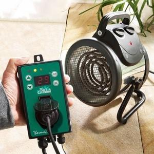 Bio Green Elektrogebläseheizung Palma (Thermostat Digital)