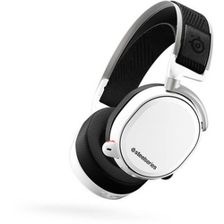 Steelseries Arctis Pro Wireless Gaming Headset 2.4GHz Funk schnurlos Over Ear Weiß, Schwarz