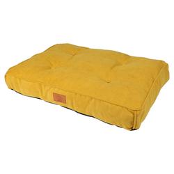 D&D Hundekissen Retro Eve gelb, Maße: 90 x 65 x 15 cm