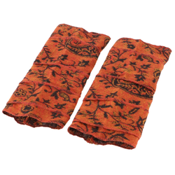 Guru-Shop Armstulpen Patchwork Handstulpen, Ethno Goa Armstulpen -.. orange