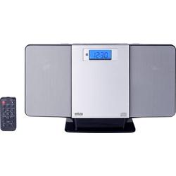 Silva Schneider SMV 600 USB Stereoanlage CD, UKW, USB, 2 x 5W Silber