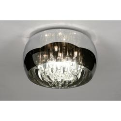 Deckenleuchte Laendlich Rustikal Modern Glas Kristall Kristallglas 71840
