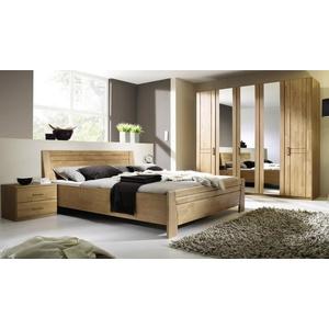 rauch Schlafzimmer-Set mit 5-türigen Kleiderschrank