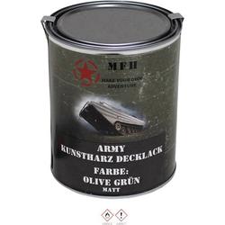 MFH Farbdose Army OLIV grün Olivgrün 1l