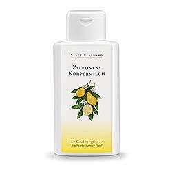 Zitronen-Körpermilch