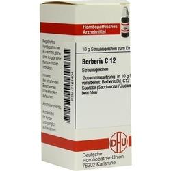 BERBERIS C 12 Globuli 10 g