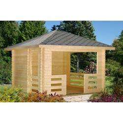 Palmako Gartenpavillon Julie 10,5 m², mit Imprägnierung