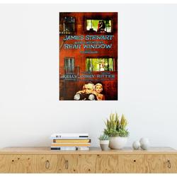 Posterlounge Wandbild, Das Fenster zum Hof (englisch) 60 cm x 90 cm