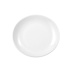 Seltmann Weiden Teller Modern Life in weiß/oval, 27 cm