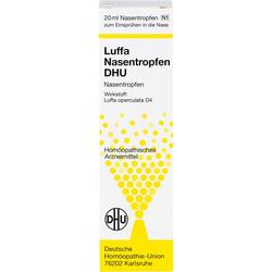 LUFFA NASENSPRAY DHU Dosierspray 20 ml