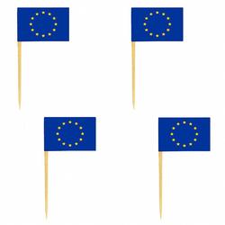 Deko-Picker Flaggenpicker Fahnenpicker Länder 'EU',  50 Stk.