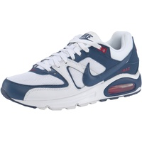 Nike Men's Air Max Command white/mystic navy/cardinal red 45
